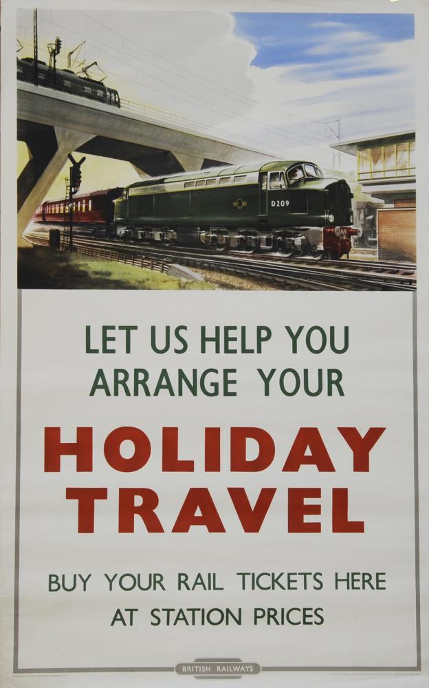 Poster British Railways 'Let Us Help You Arrange