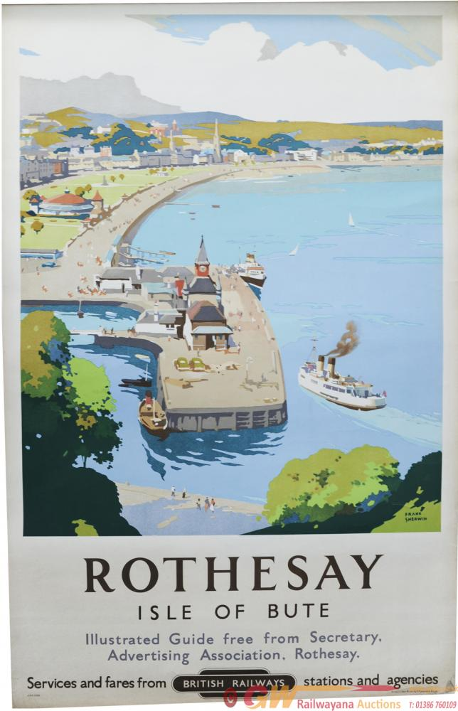 BR Poster, Rothesay - Isle Of Bute, By Frank