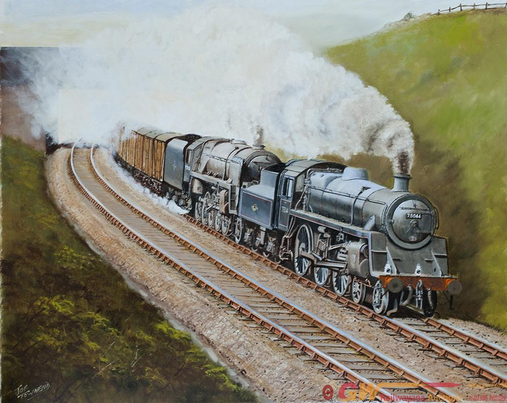 Original Oil Painting On Canvas Of BR STDS 75044