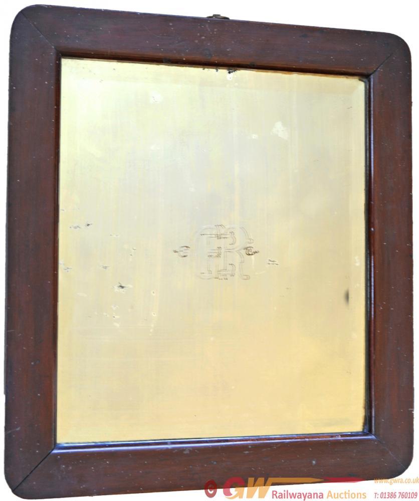 Great Eastern Railway Mahogany Framed Mirror 16