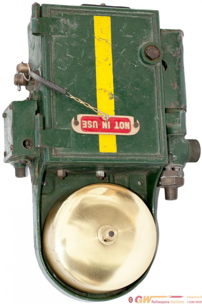 GWR Steam Locomotive Cab AWS Warning Bell Complete