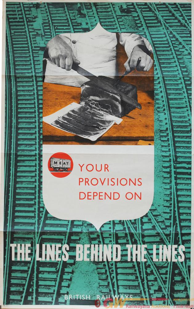Poster British Railways (Big 4) Wartime 'Your