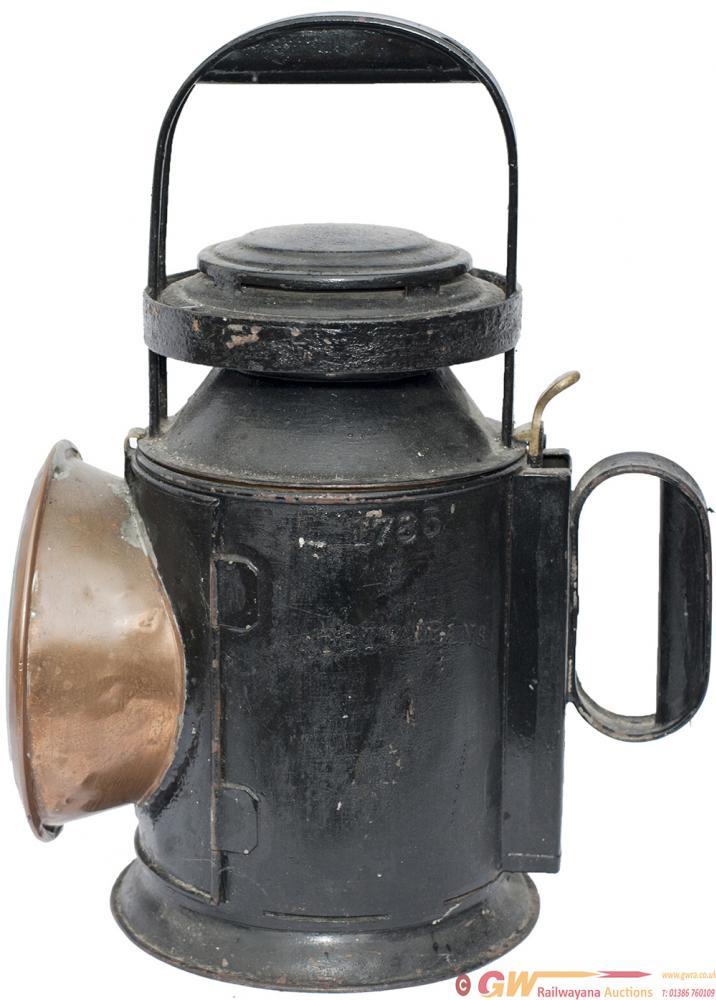 NBR Bulpitt 3 Aspect Handlamp, Steel Plated On The