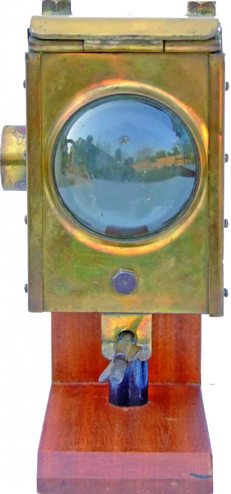 Bulleid Locomotive Brass Headlamp, In Good