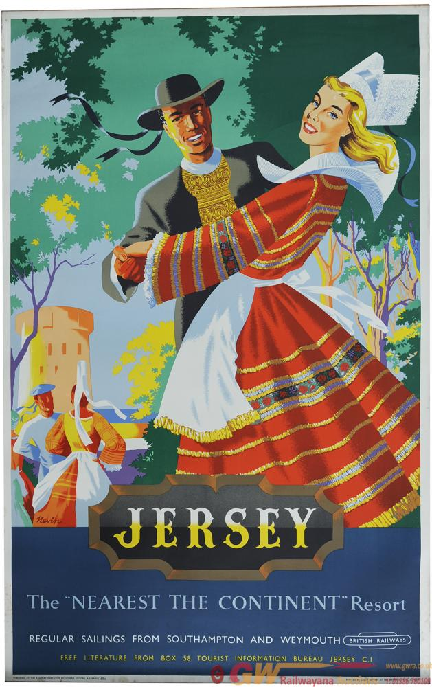 Poster BR 'Jersey The Nearest The Continent
