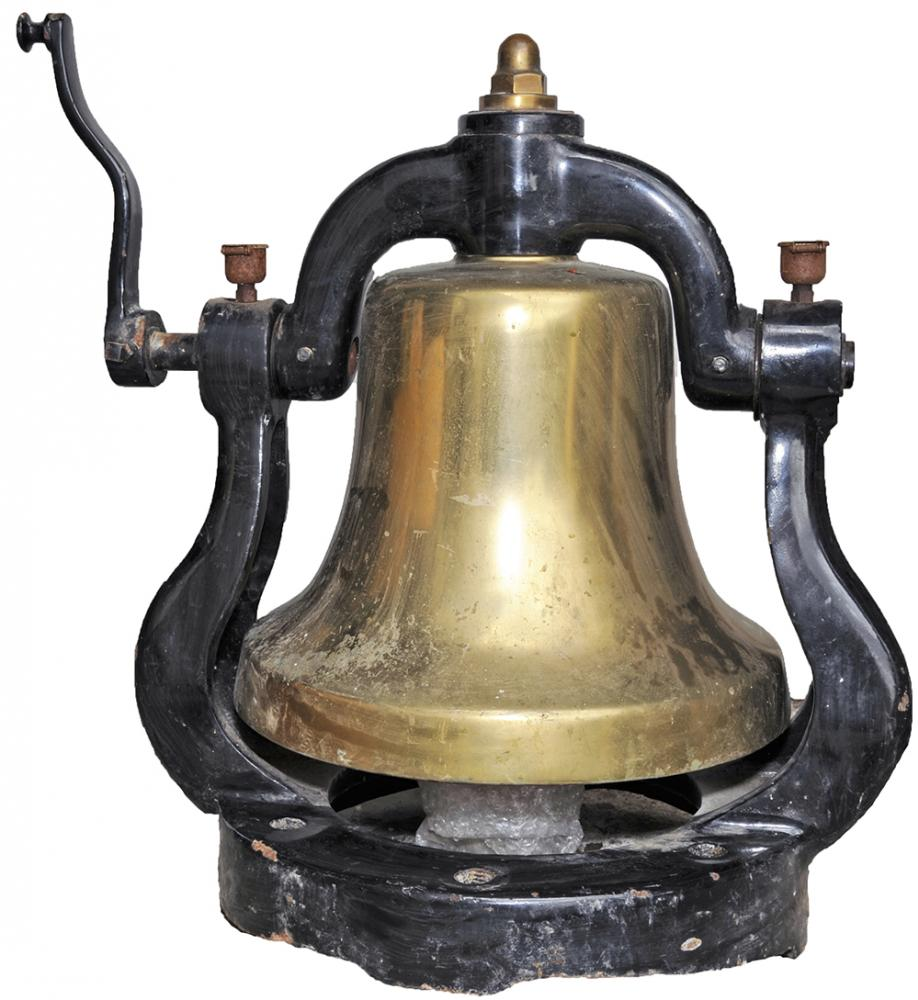 American Locomotive Bell Of Large Proportion And