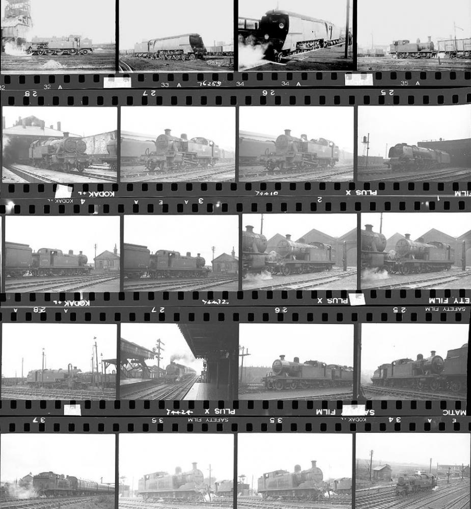 Approximately 120, 35mm Negatives. Includes Nine