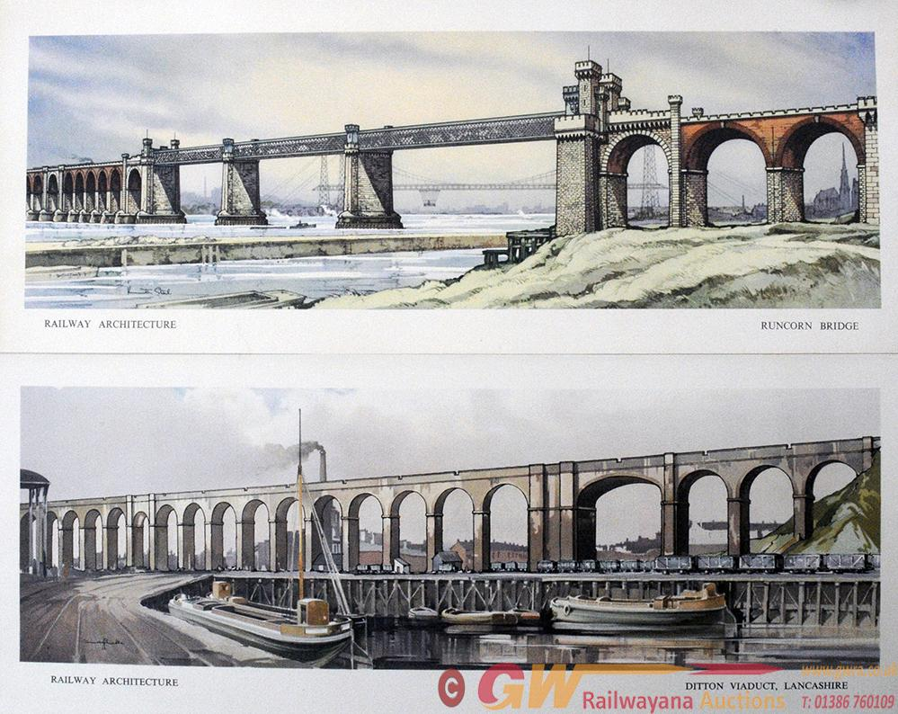 Carriage Prints, A Pair Unframed Comprising:-