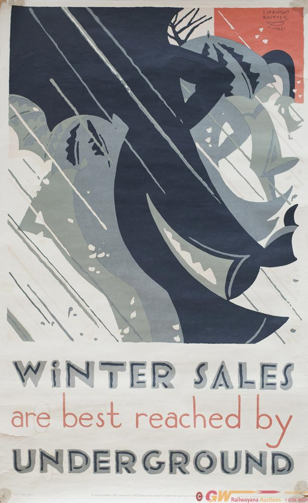 Poster LT WINTER SALES ARE BEST REACHED BY