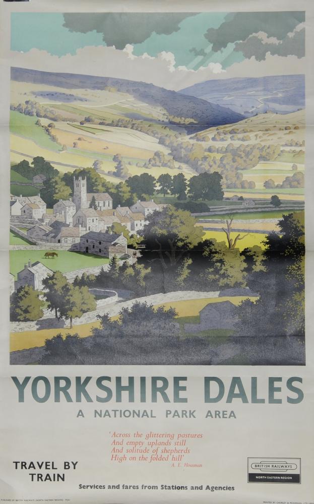 Poster BR(NE) Region 'Yorkshire Dales - A National