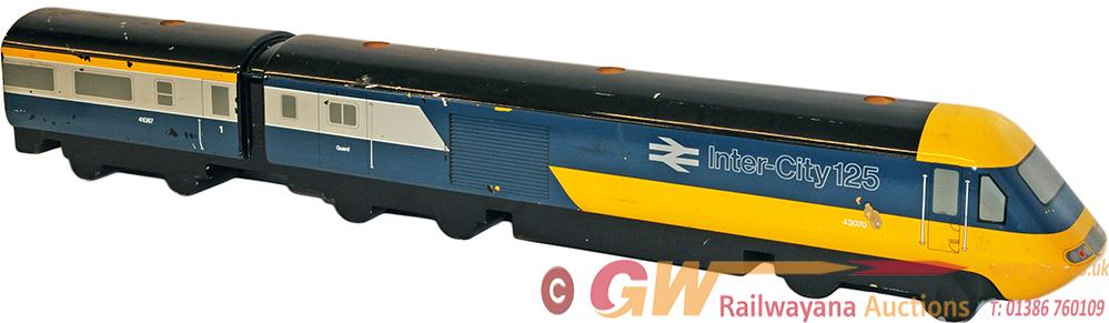 Inter City 125 HST Wooden Model Of 43070 As Used