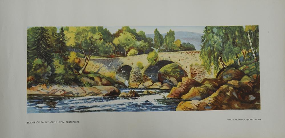 Carriage Print 'Bridge Of Balgie, Glen Lyon,