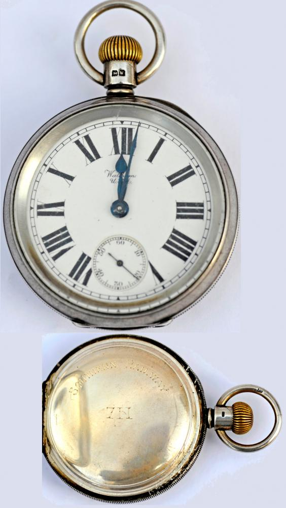 Southern Railway Pocket Watch Manufactured By The