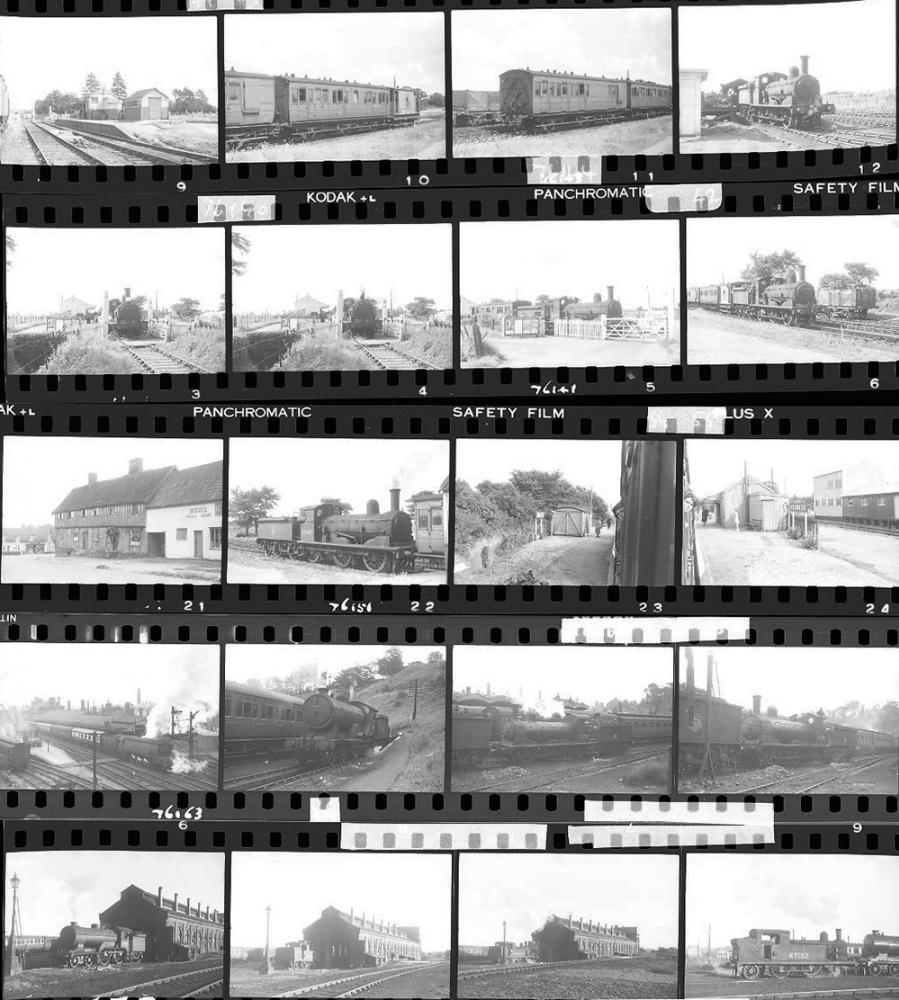 Approximately 127, 35mm Negatives. Includes Mid