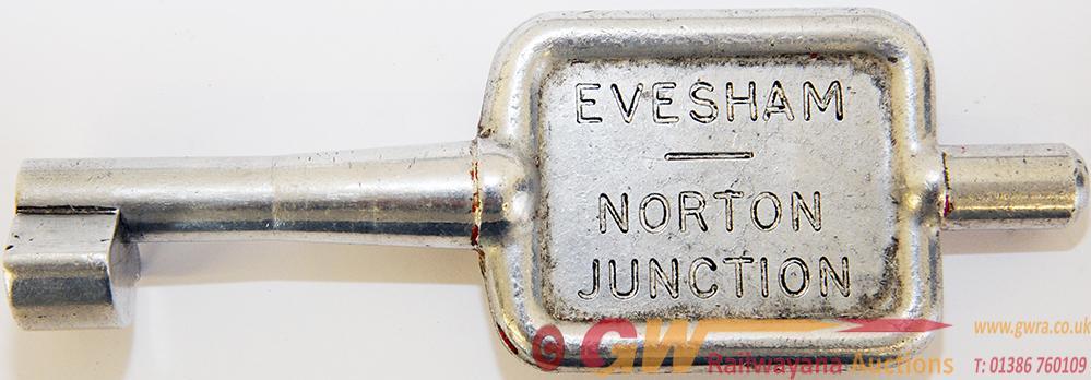 Single Line Alloy Key Token NORTON JCT - EVESHAM.