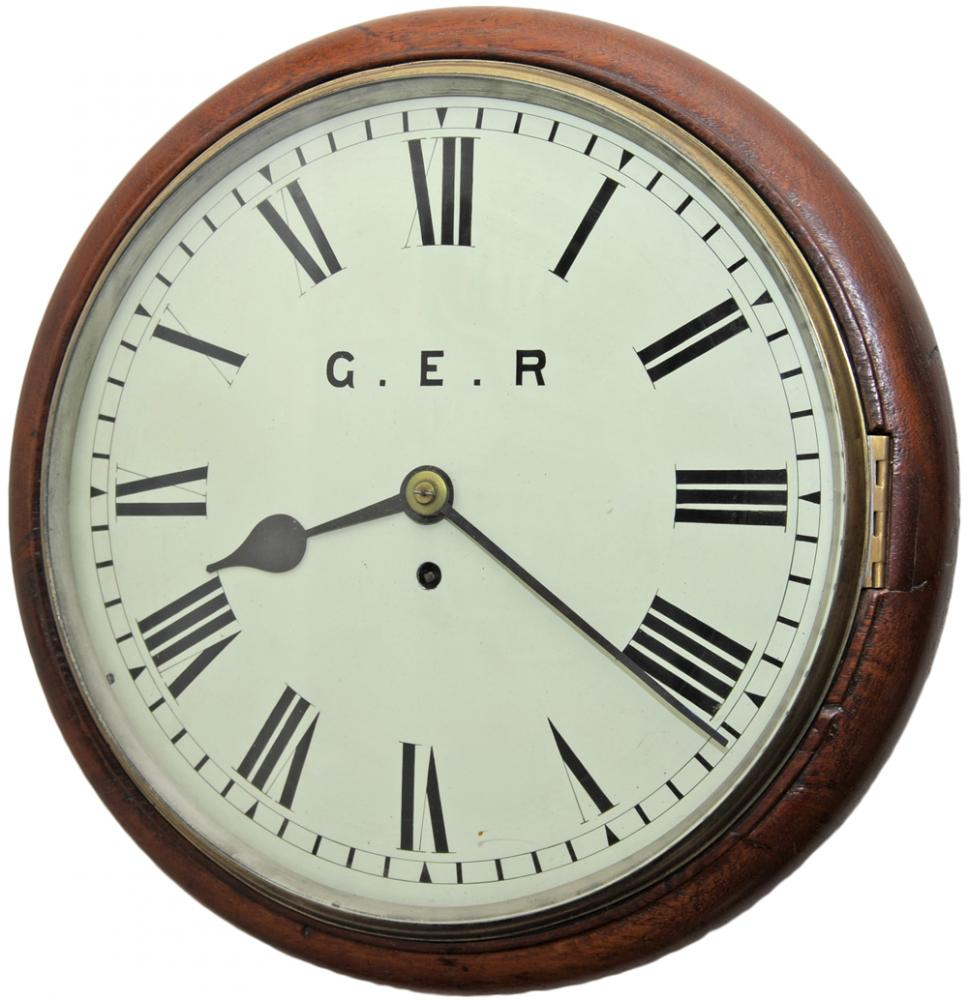 GER 12 Late 19th Century Mahogany Cased Fusee