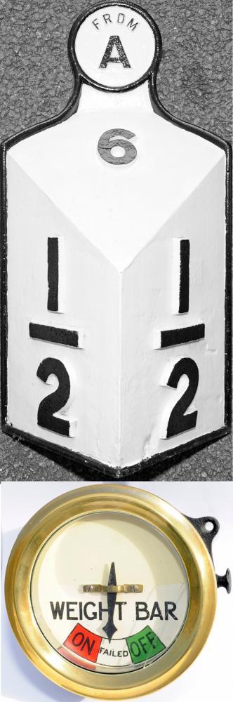 Midland Railway Milepost  6