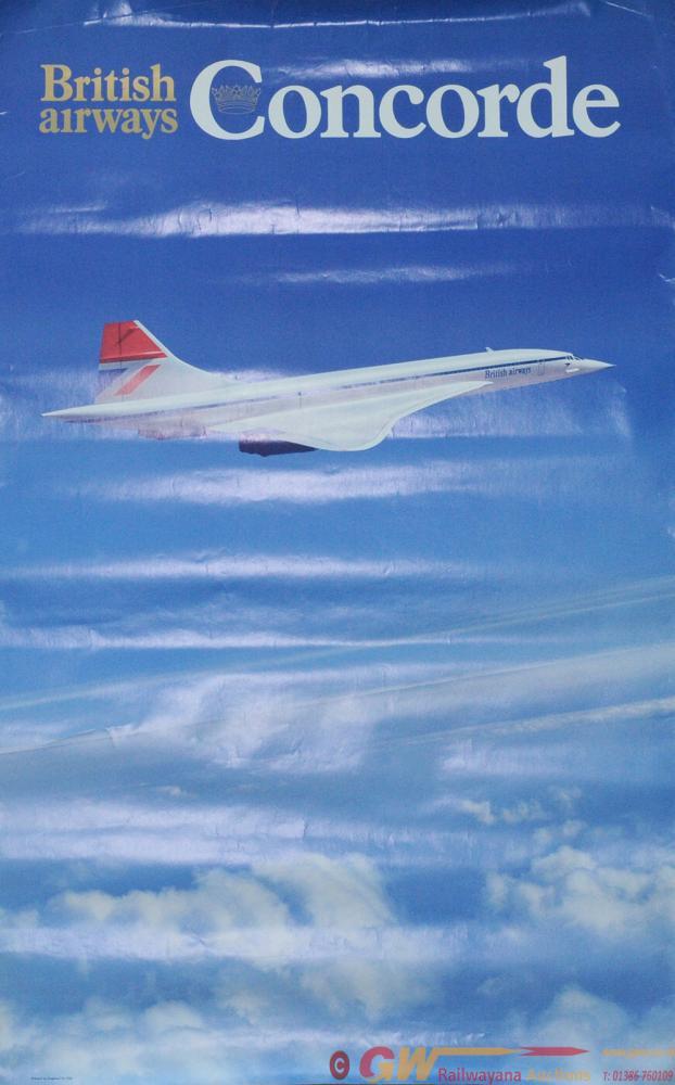 Poster British Airways 'Concorde' Double Royal 25