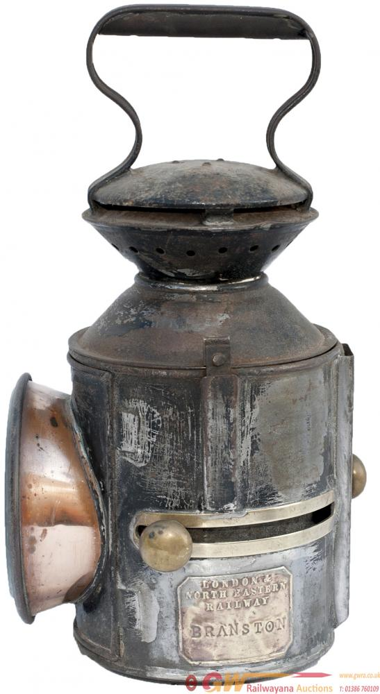 LNER GER 3 Aspect Sliding Knob Handlamp Stamped In