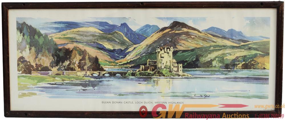 Carriage Print 'Eilean Donan Castle - Loch Duich,