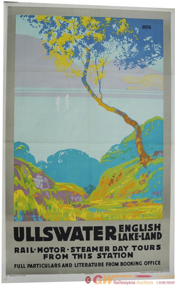 Poster LNER 'Ullswater - English Lakeland - Rail