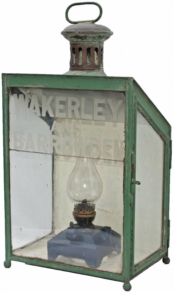 LNWR Platform Station Lamp With Original Etched