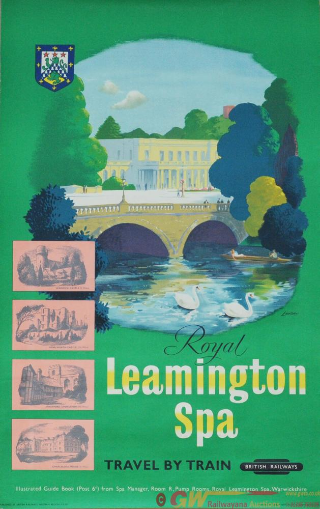 Poster - 'Royal Leamington Spa' By Lander, Double