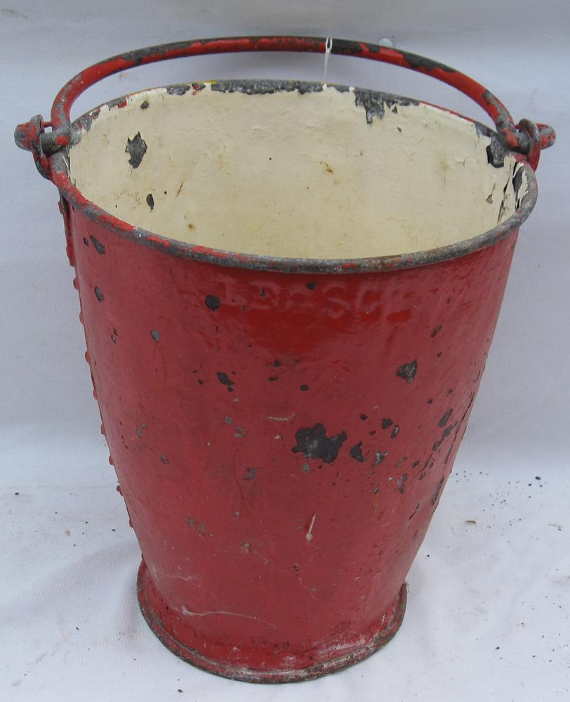 LBSCR Fire Bucket Embossed LBSCR. Not Common.