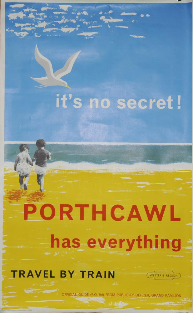 Poster, BR(W) 'Porthcawl Has Everything - Travel