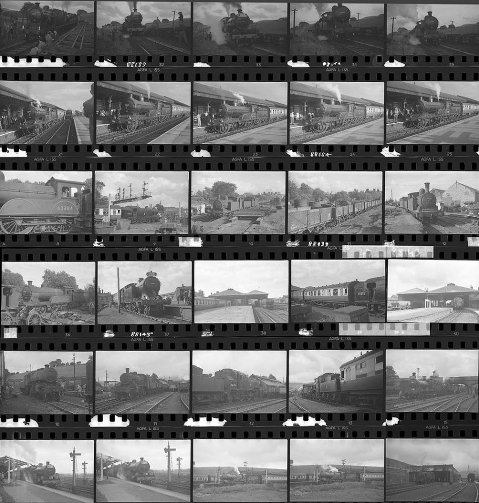 Approximately 66, 35mm Negatives. Includes