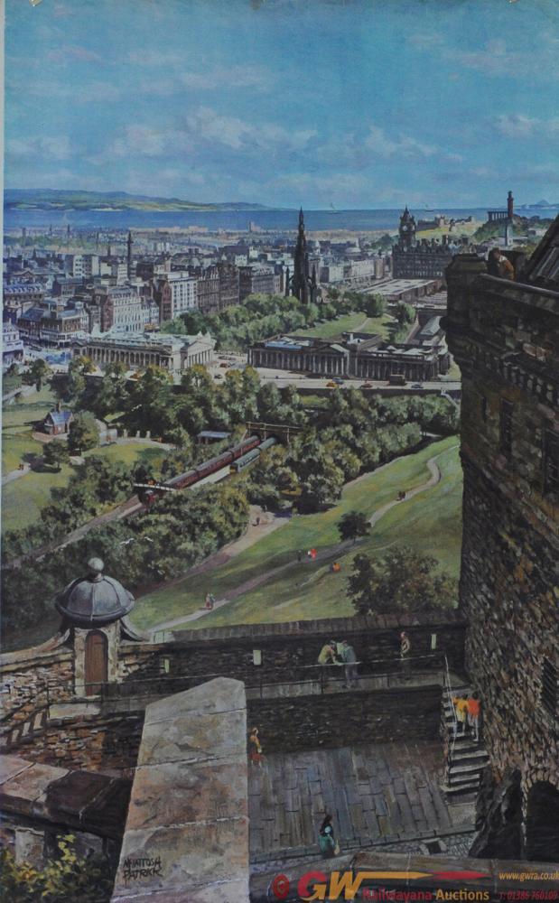 Poster BR 'Edinburgh' By McIntosh Patrick Double