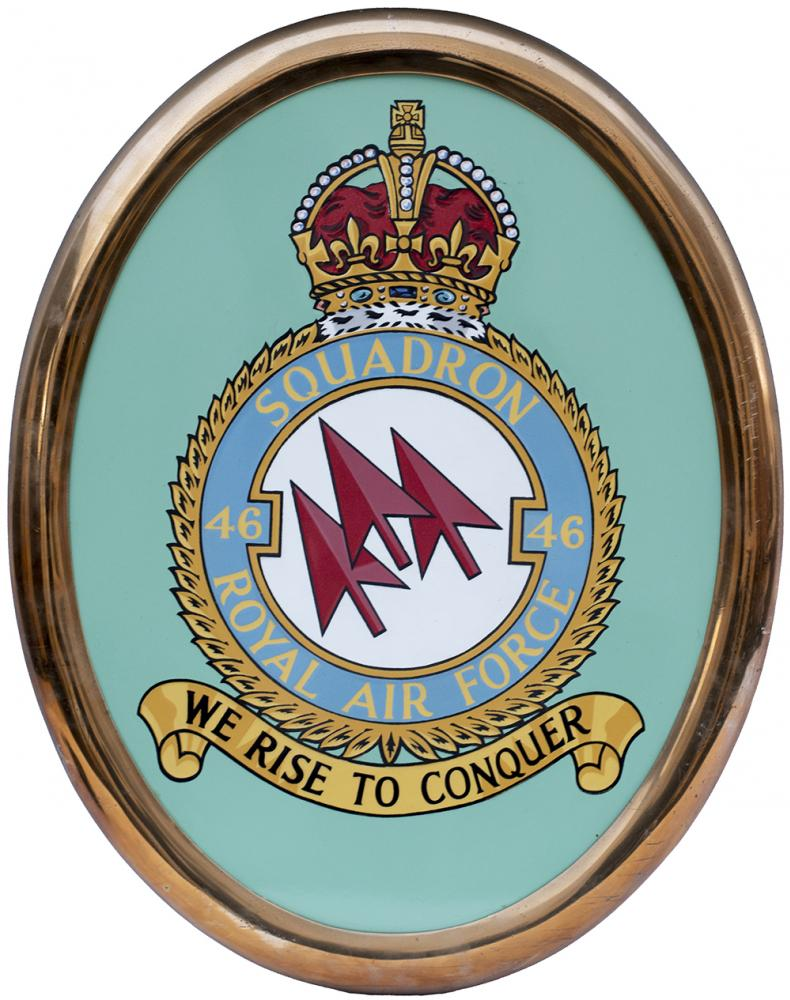 Nameplate Shield From Bullied Battle Of Britain