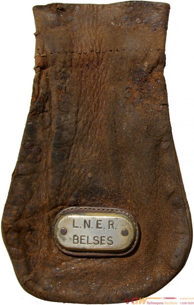 London & North Eastern Railway Leather Cash Bag