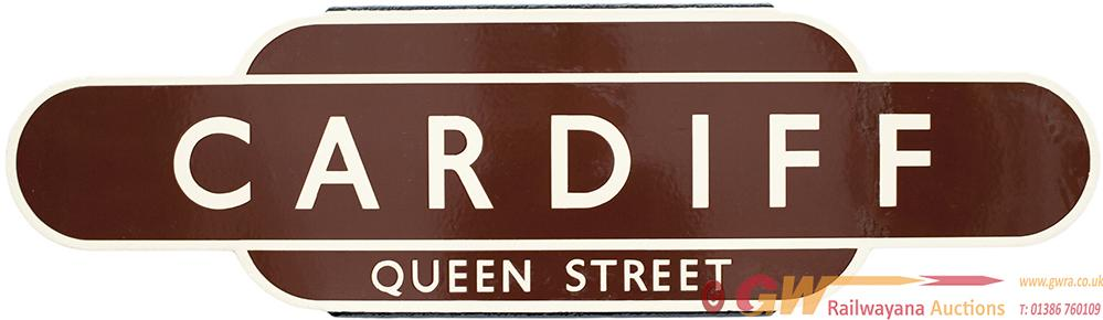 Totem BR(W) HF CARDIFF QUEEN STREET From The