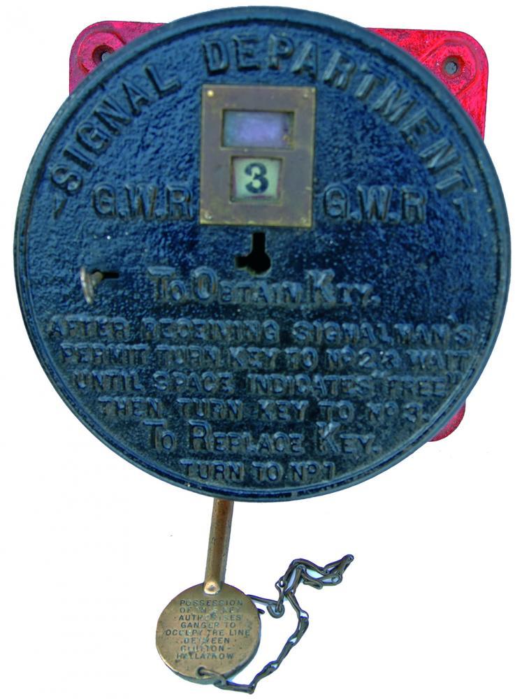 GWR Early, Round Style C/I Gangers Occupation Key