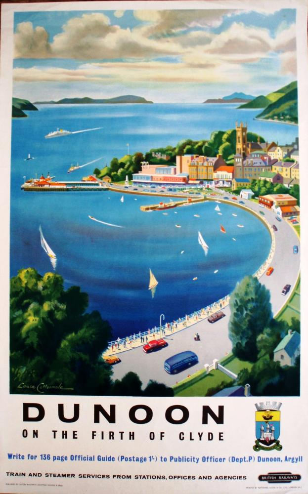 Poster, BR(Sc) D/R 'Dunoon On The Firth Of Clyde'.