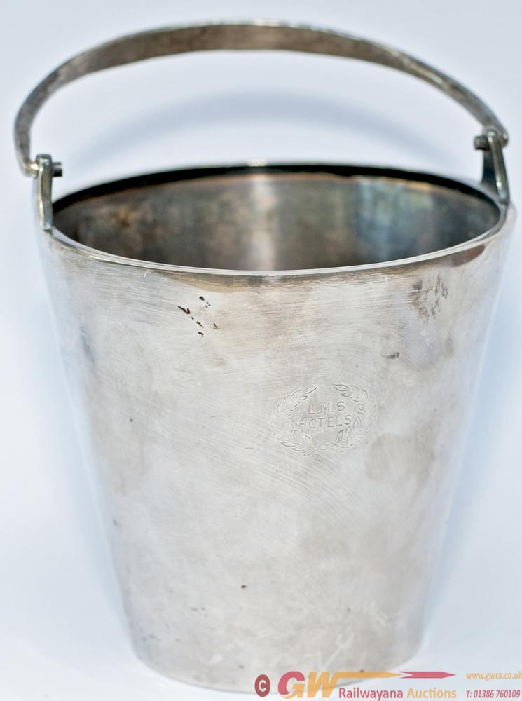 LMS Hotels Silverplate Small Ice Bucket Clearly