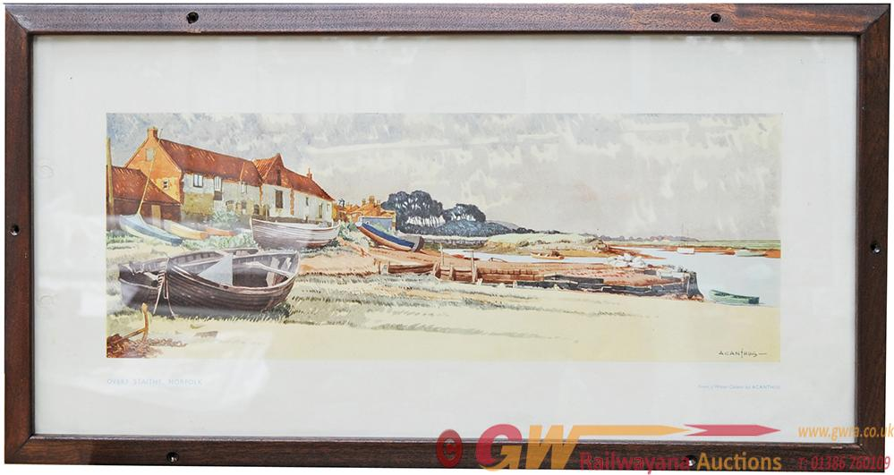 Carriage Print 'Overy Staithe, Norfolk' By