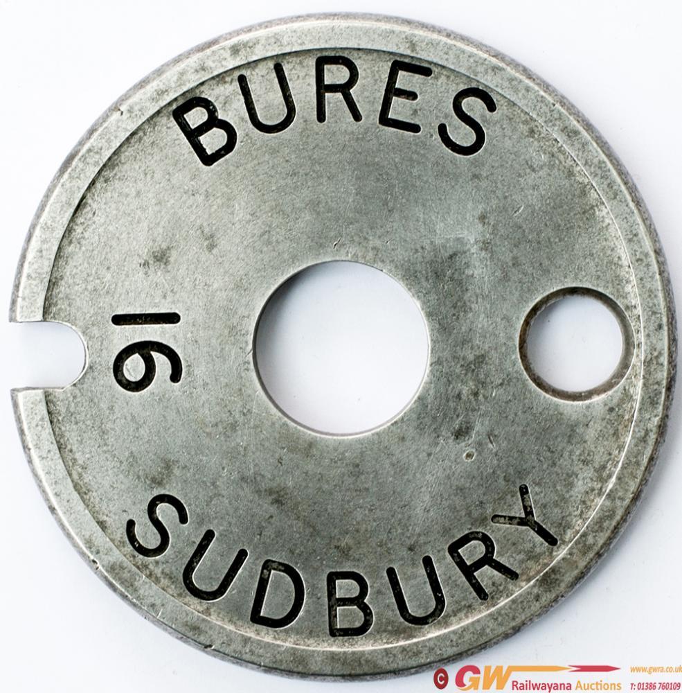 Tyers no6 Single Line Aluminium Tablet BURES 16 -