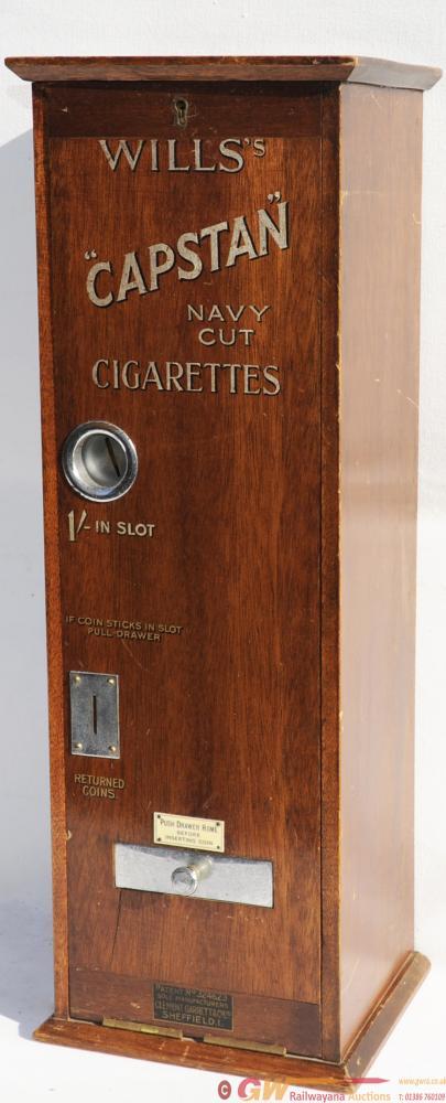 Cigarette Vending Machine, Wills Capstan Navy