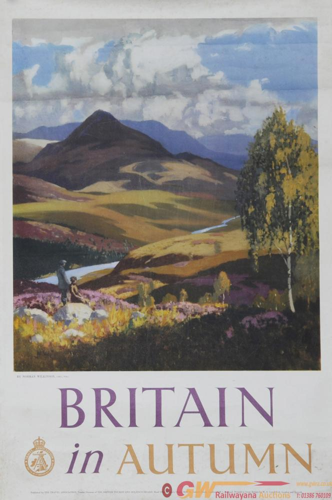 Poster Travel Association 'Britain In Autumn' By