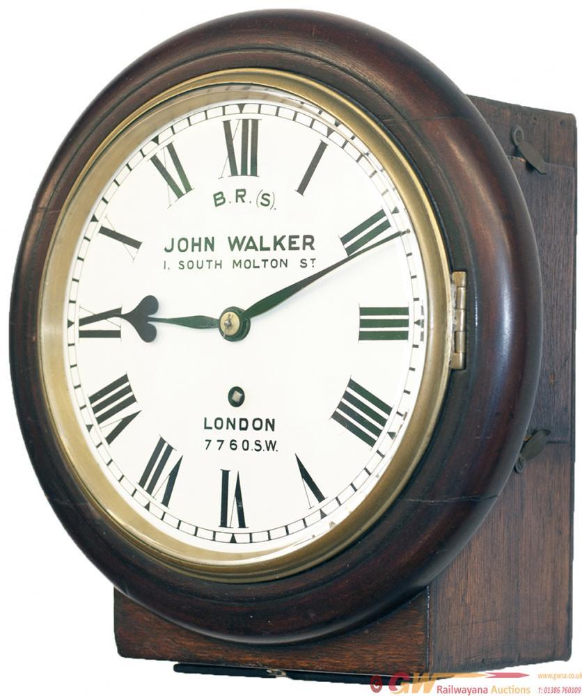 London & South Western Railway Mahogany Cased 8