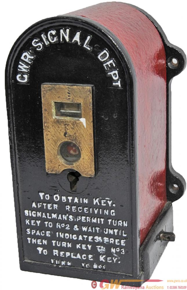 GWR Gangers Key Instrument Nicely Embossed In Full