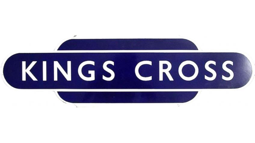 Collectable Antique Railwayana Auction World Records - GW Railwayana - British Railways Totem Kings Cross