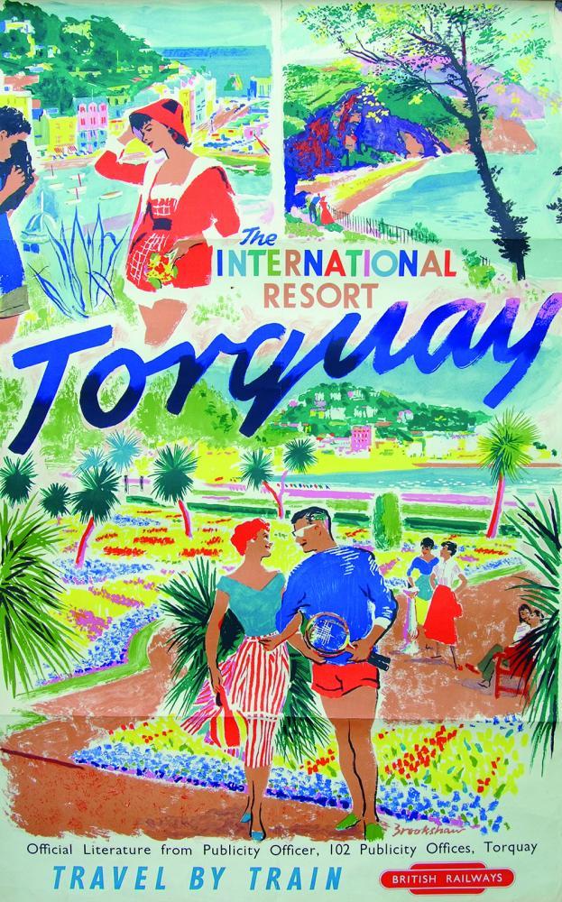 Poster, BR(W) Torquay - The International Resort',