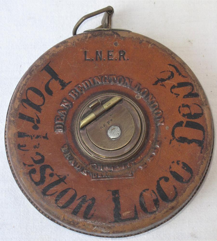 LNER 66ft Tape Measure Made By Dean Bedington Of