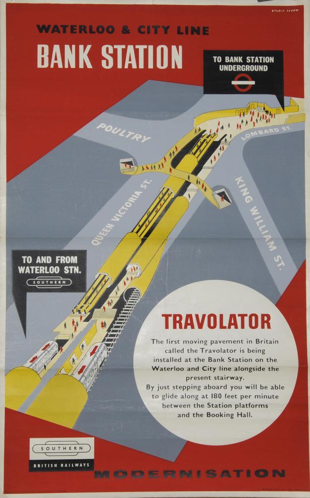 Poster, British Railways 'Waterloo And City Line