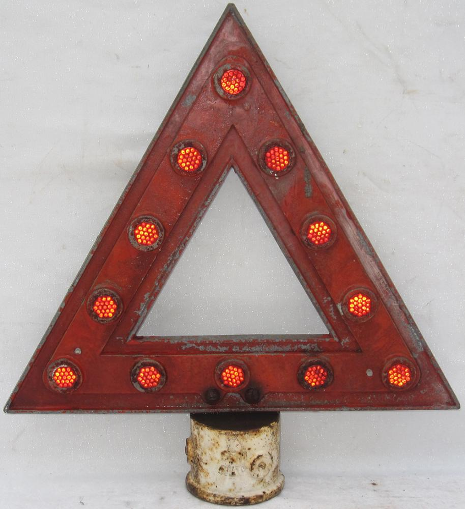 Road Warning Sign TRIANGLE Complete With
