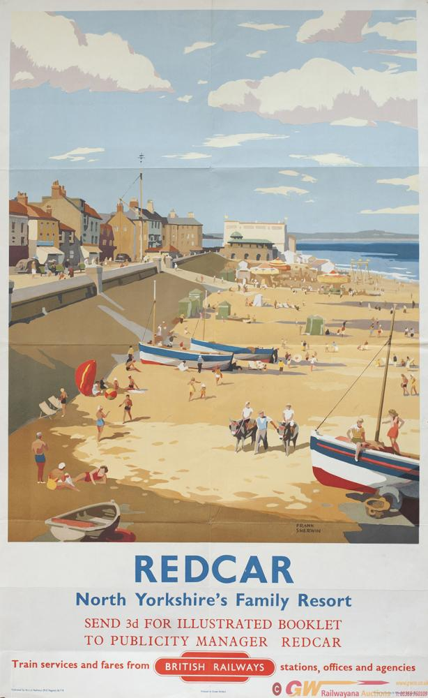 Poster BR REDCAR NORTH YORKSHIRES FAMILY RESORT By