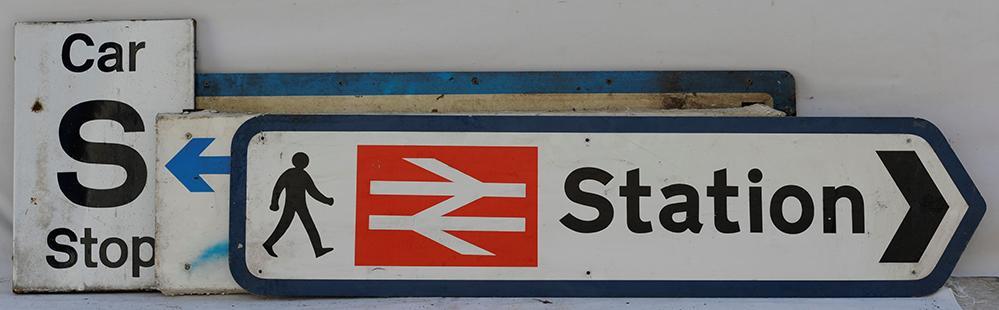 A Collection Of 3 X British Railways Aluminium